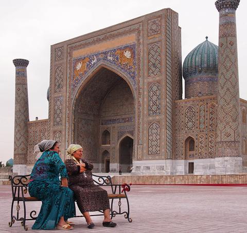 Samarkand, Central Asia